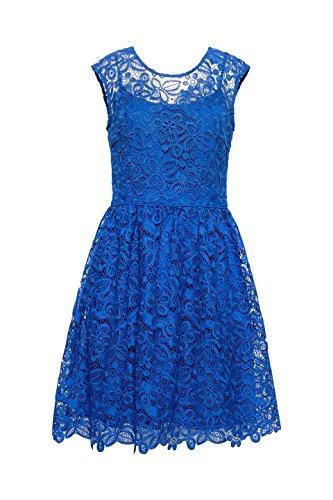 Esprit Azul 410 bright Mujer Blue Collection Vestido Para rfUqISPf