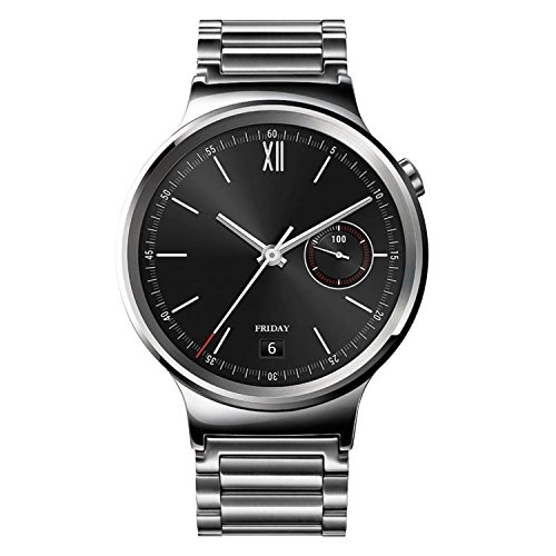43fe3e968 Amazon.com: Huawei Watch Stainless Steel with Stainless Steel Link Band  (U.S. Warranty): Cell Phones & Accessories