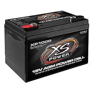 XS Power Battery XP1000 AGM Battery 16v 2 Post