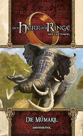 Fantasy Flight Games ffgd2653 el señor de los Anillos Parte – LCG – mumakil Aventura De Pack Hara drim: Amazon.es: Juguetes y juegos