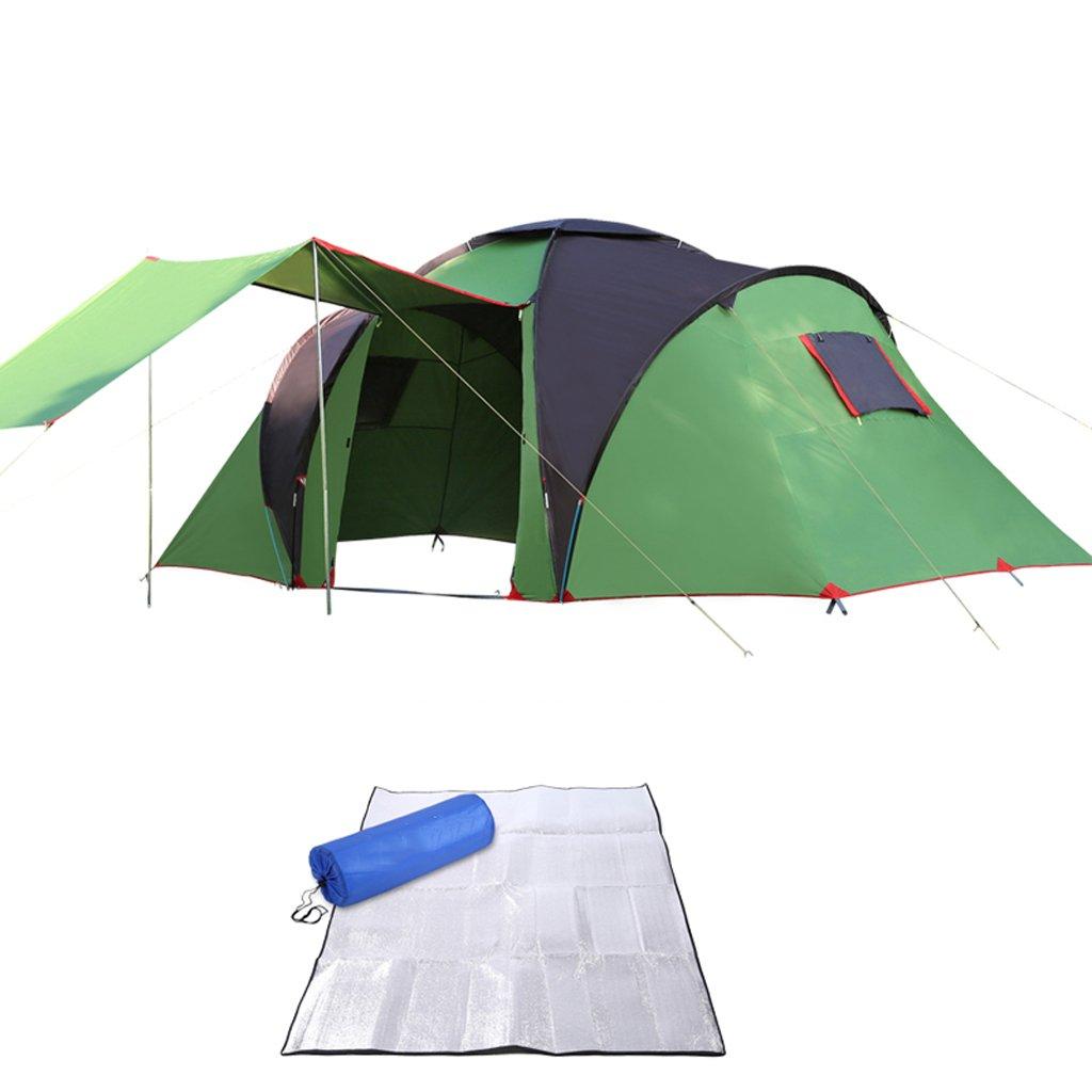 Zelt LINGZHIGAN Outdoor 5-8-10  Herrenchen Wild Camping Ausrüstung Strand Camping Sonnenschutz