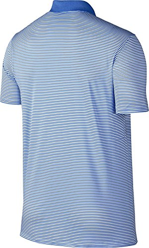 Men's NIKE Victory Shirt Polo Dry Golf Royal Solid White 6wvUwdqOf