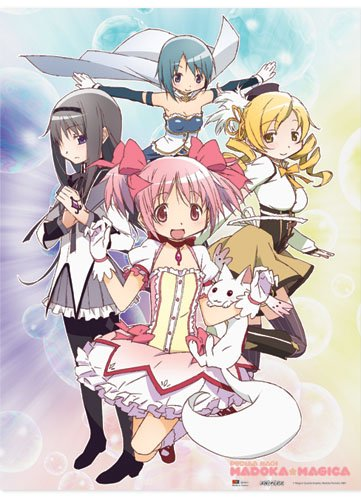 Great Eastern Entertainment Madoka Magica Group Wall Scroll, 33 by 44-Inch 5911