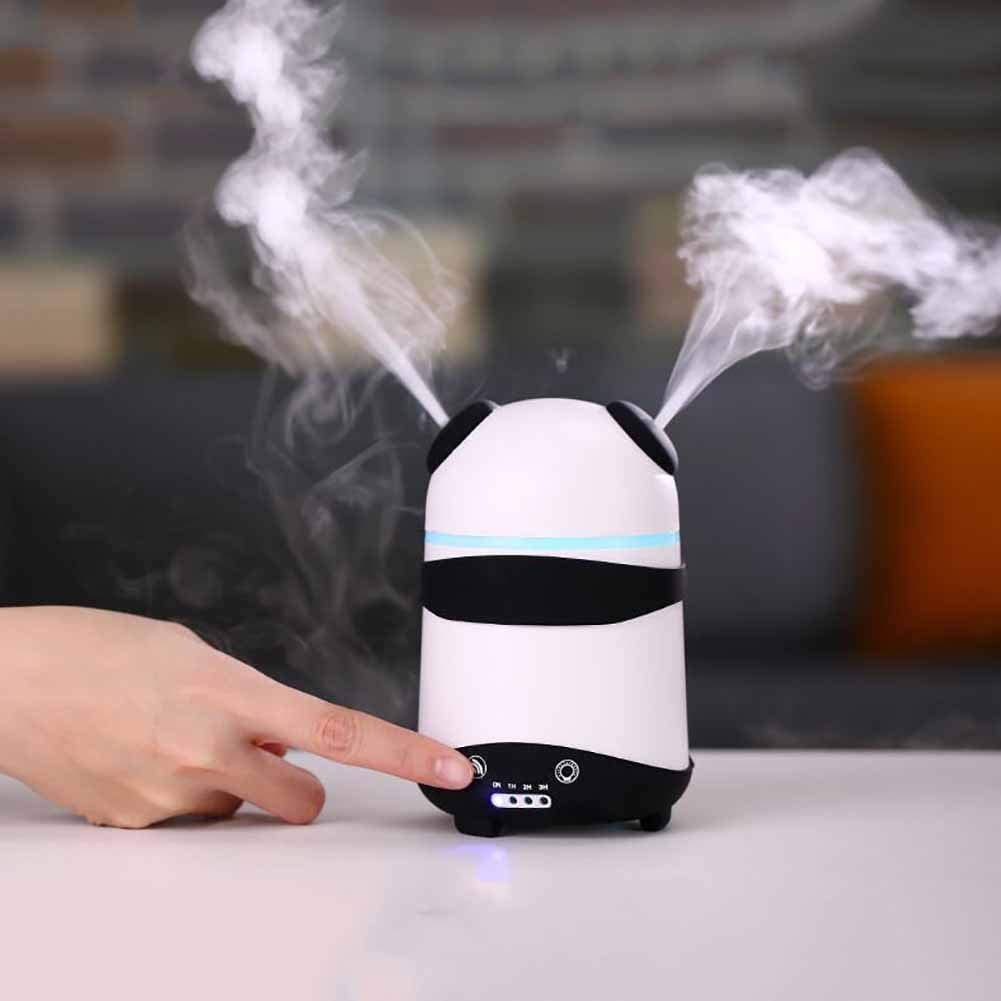 HONG Panda Aromaterapia Doble Spray LED Purificador De Aire ...
