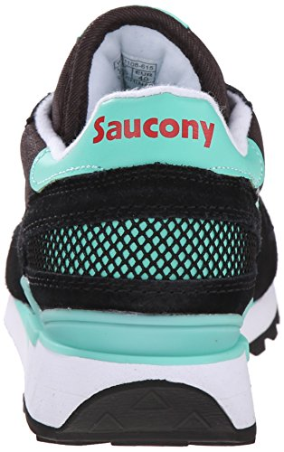 Original Aqua Black Fashion Sneaker Shadow Saucony Women's Originals O08qZt