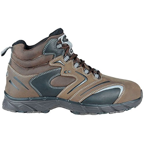 Cofra NEW Fitness S3SRC par de zapatos de seguridad talla 43MARRÓN