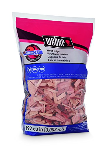 Weber-Stephen Products 17143 Hickory Wood Chips, 2 lb