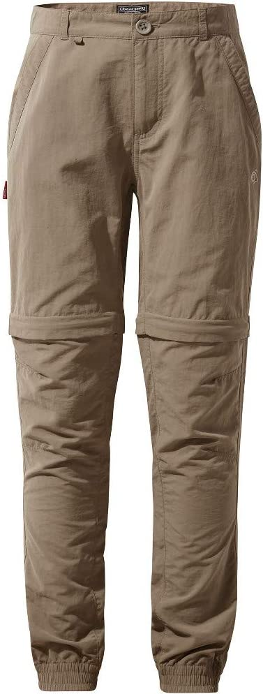 Craghoppers Boys NosiLife Terrigal Zip Off Walking Trousers