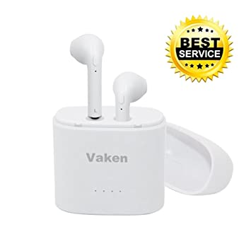 Auriculares Bluetooth Inalámbrico,Vaken In-Ear Manos Libre Bluetooth 4.1 Mini Earbuds True Estéreo