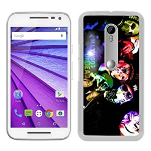 Unique Motorola Moto G 3rd Generation Case ,Fashionable And Popular Designed Case With hollywood undead (2) White Moto G 3rd Gen Cover Case Good Quality Phone Case