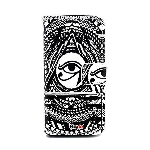 Bayke Brand / Samsung Galaxy S5 SV Fashion Print Design PU ...