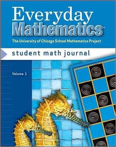 Everyday Mathematics Grade 2 Student Math Journal 1 3rd Edition