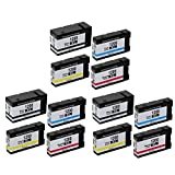 O'Image 12-Pack PGI-1200 1200XL PGI1200XL Ink Cartridge Replacing for Canon MAXIFY MB2020 MB2320 Series Printer