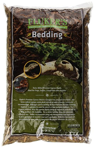 ical Cypress Bedding for Reptile, 5 quart (Cypress Reptile Bedding)