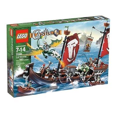 LEGO Castle Troll Warship: Toys & Games