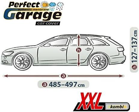 PERFECT XXL Kombi Wasserdicht Vollgarage Ganzgarage Ganzj/ährig Autoplane Vollgarage KG-PERFECT-XXLKom-05 Neues Modell