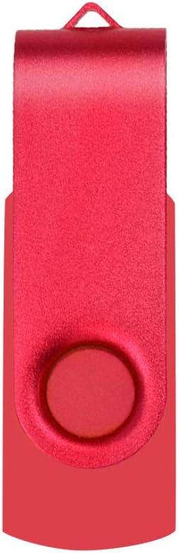 16GB*10PCS Chiavetta USB 16 GB Uflatek Portatile Pen Drive 16 Giga 10 Pezzi Girevole Chiavette Pennetta USB 2.0 Multicolore Flash Drives Memoria Stick 16Giga
