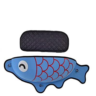 DuDuDu Cat Hammock Bed Mount Window Pod Lounger Suction Cups Warm Bed