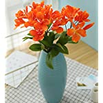 Skyseen-3PCS-Artificial-Flowers-Azalea-Blossoms-Fake-Rhododendron-for-Home-Decor