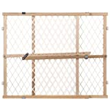 North States Industries Diamond Mesh Gate - 4600 - Natural - 26.5 to 42 by North States Industries