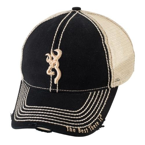 Browning Bozeman Mesh Back Cap, Black