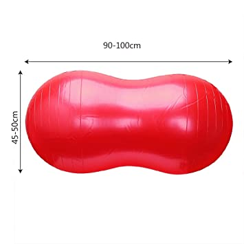 Amazon.com: Eyososo - Cojín hinchable de goma con bola para ...
