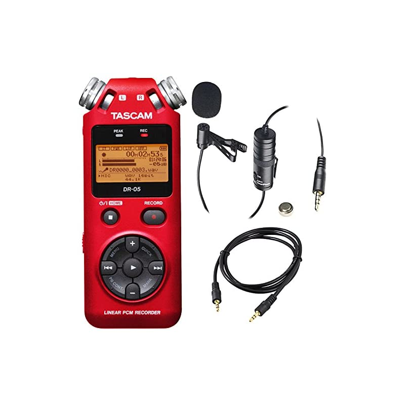 Tascam DR-05 Portable Handheld Digital A