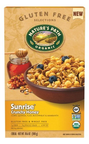 Natures Path Sunrise Crunchy Cereal Gluten Free, 10.6 oz