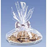 Clear Cello Cookie Tray Bags - 18x16 - 6 Pack
