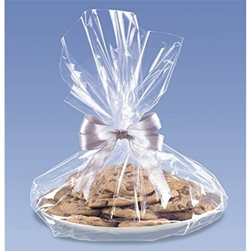 Clear Cello Cookie Tray Bags - 18x16 - 6 Pack by AMS