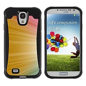 Be-Star único patrón Impacto Shock - Absorción y Anti-Arañazos Funda Carcasa Case Bumper Para SAMSUNG Galaxy S4 IV / i9500 / i9515 / i9505G / SGH-i337 ( Color Shine Sparkle Colors )