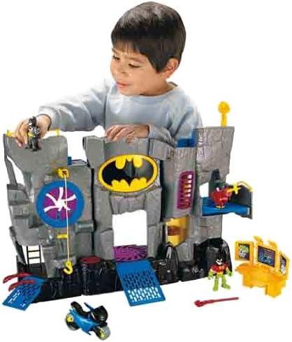 Imaginext DC transformer une Batcave figurines héros Set Batman Super figures