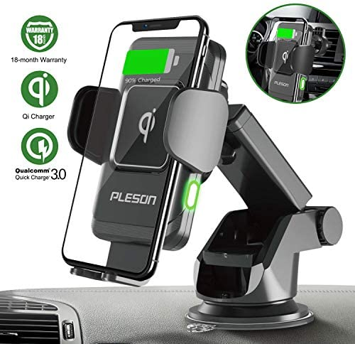 PLESON Wireless Auto Clamp Windshield Dashboard product image