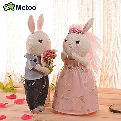 Amazon Metoo Wedding Dress Lovers Style Tiramisu Rabbit Plush