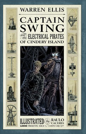 Captain Swing and the Electrical Pirates of Cindery Island No. 2 ()