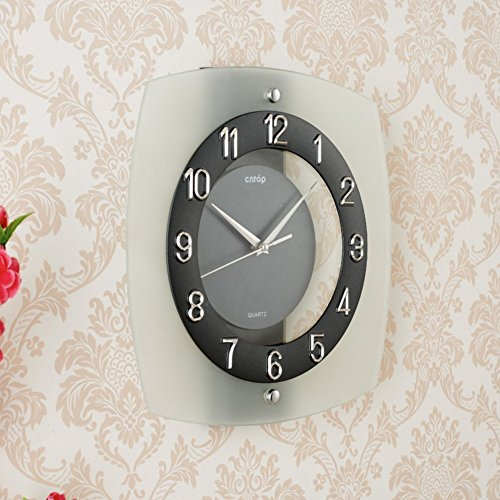 Wall Clock modern Quartz quiet decoration not refined of health in Arab figures-a 12inch by gerewe (Image #1)