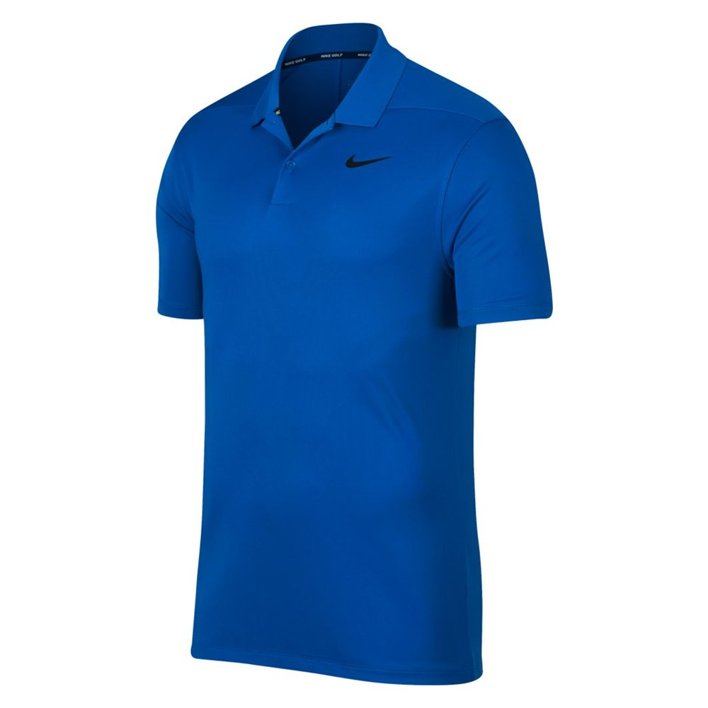 Nike Dri Fit Victory Solid LC Golf Polo 2019 Blue Nebula/Black Small