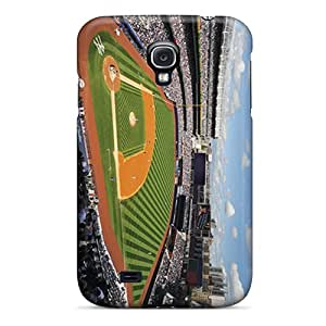 Shock Absorption Hard Phone Covers For Galaxy S4 With Provide Private Custom Nice New York Yankees Pictures CassidyMunro