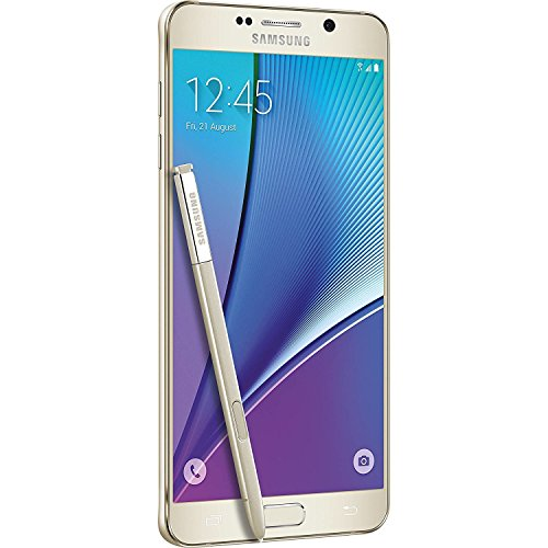 Samsung Galaxy Note 5 SM-N920T 32GB Platinum Gold - T-Mobile GSM Unlocked (Certified Refurbished)