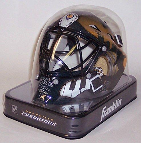 Nashville Predators Franklin Sports NHL Mini Goalie Mask - New in Box