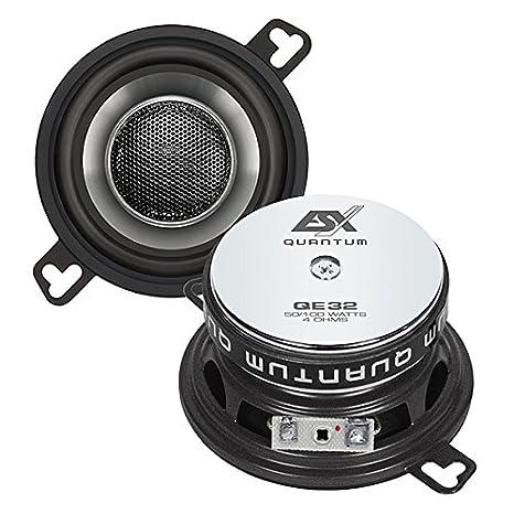 XLR, 100/W, 50/W, 4/Ohm, Neodym, 41/mm /KFZ-Lautsprecher ESX qe32/XLR 100/W Auto-Lautsprecher/