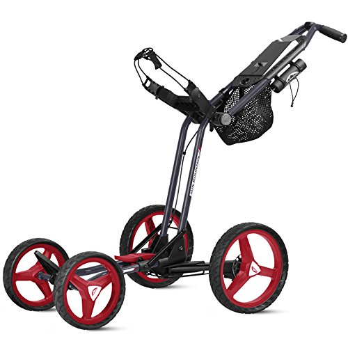 Sun Mountain Micro Golf Cart GT, Navy/Red/White