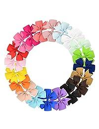 Tfheey Brand Clips Pelo de mariposa, con pinzas de cocodrilo de grogrén, cinta para el pelo, accesorios para el pelo para niños y niños