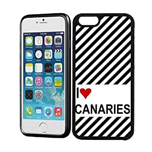 Love Heart Canaries iPhone 6 Case - Fits iPhone 6