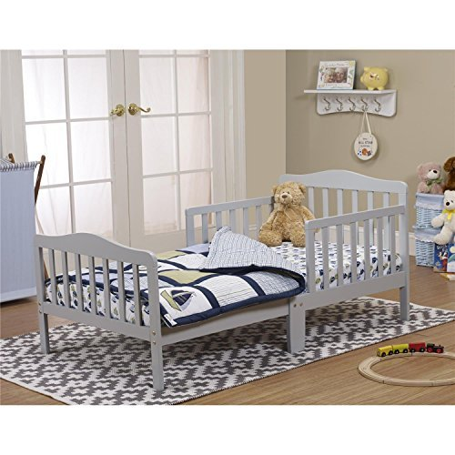 Orbelle Trading Toddler Bed, Grey by Orbelle Trading (Image #1)