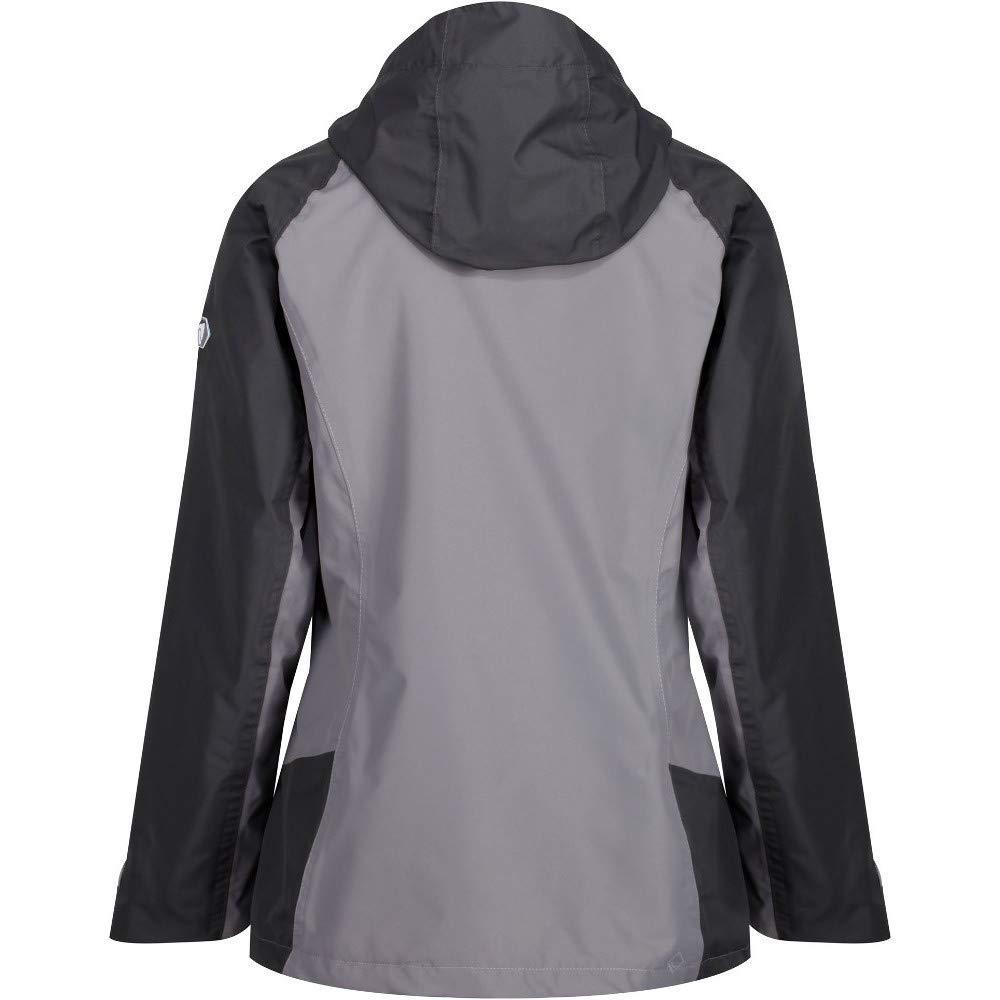 Regatta Damen Womens Calderdale Iii Waterproof and Breathable Hooded Outdoor Active Hiking Jacke