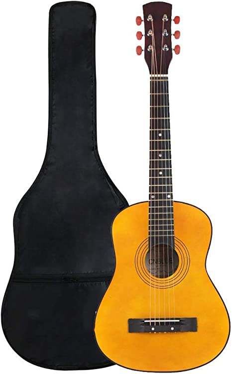 ZGHNAK Guitarra folk acústica de 30 pulgadas Principiante Guitarra ...