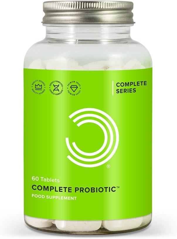 BULK POWDERS Complete Probiotic - Pack of 60 Tablets ...