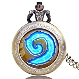 Men's Pocket Watch, Wow World of Warcraft, Hot Sell Pendant Vintage Retro Pocket Watch, Special Gift for Men