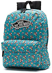 Vans Womens Wm Realm Backpack Vn-0nz0jmo - Aqua Sea